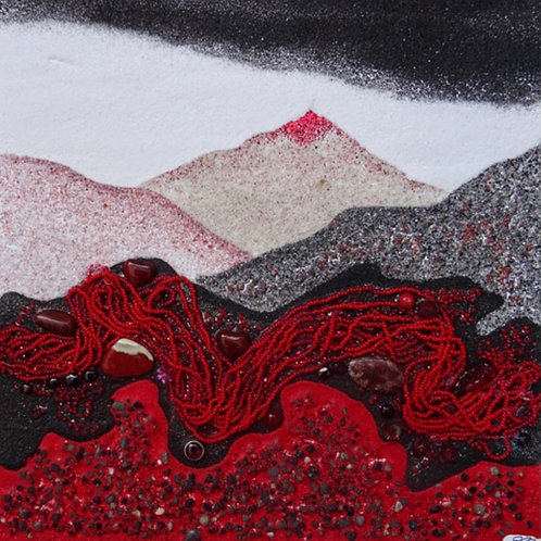 Crimson Glastonbury Tor