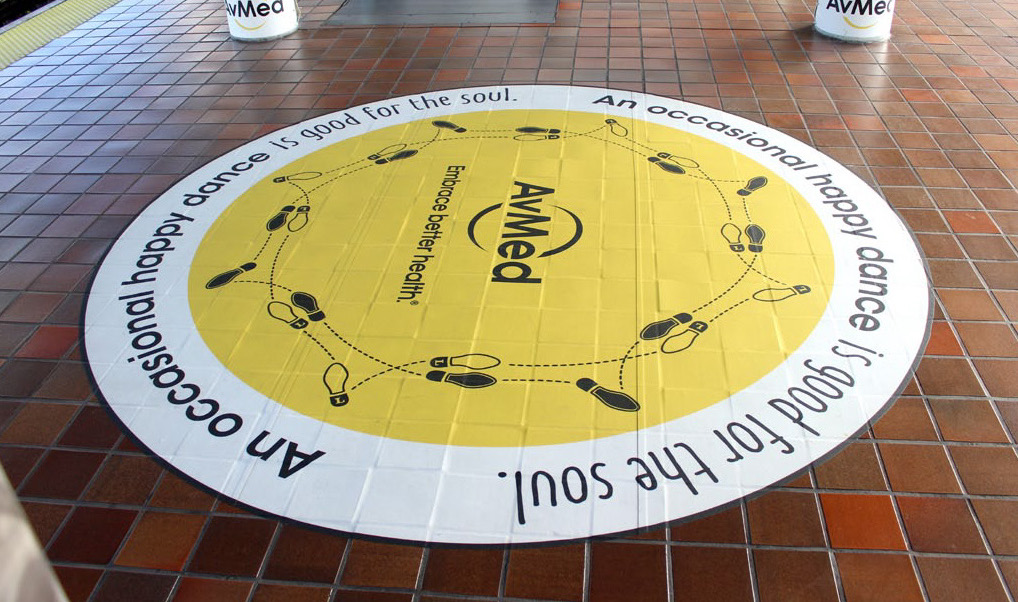 Interactive Floor Decal