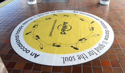 Interactive Floor Decal