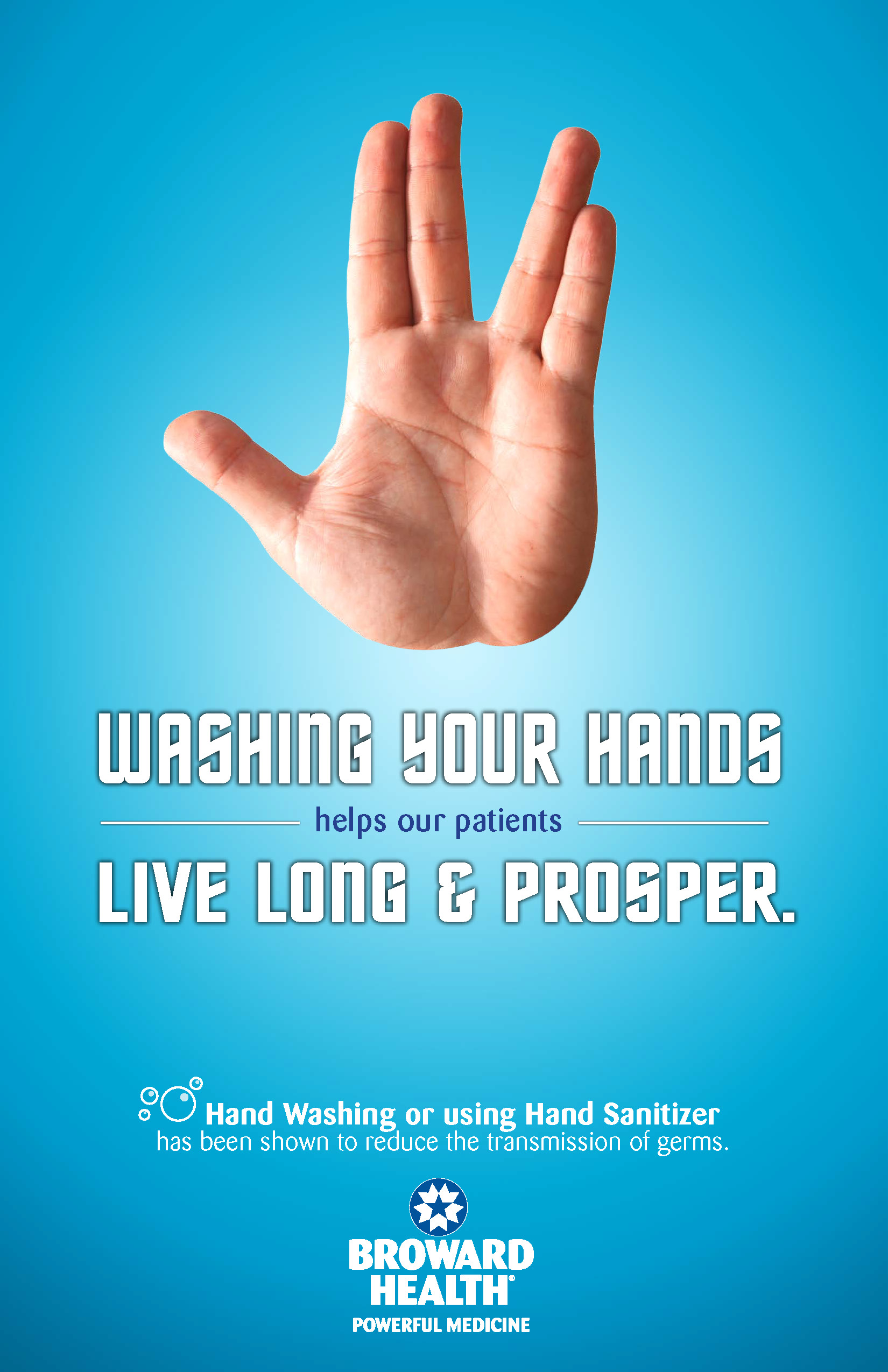 Broward Health _ Hand Washing Poster - Prosper