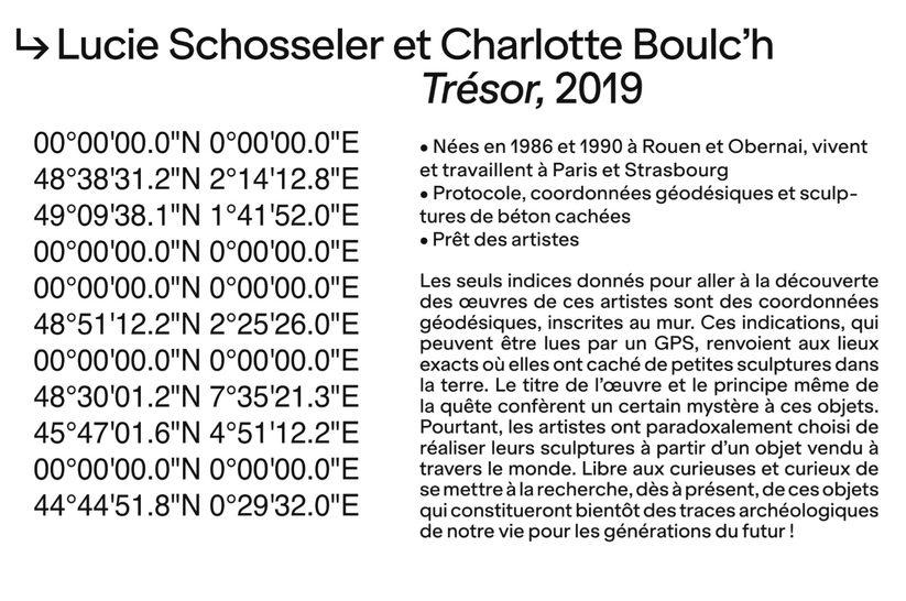Trésor, 2019