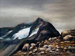 "North Cascades 17""x 21""Oil"