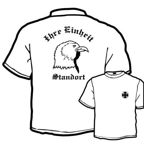 T Shirt Atmungsaktiv beidseitig bedruckt, Motiv: BW_020