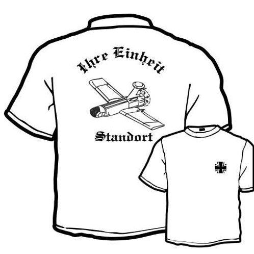 T Shirt beidseitig bedruckt, Motiv: BW_012