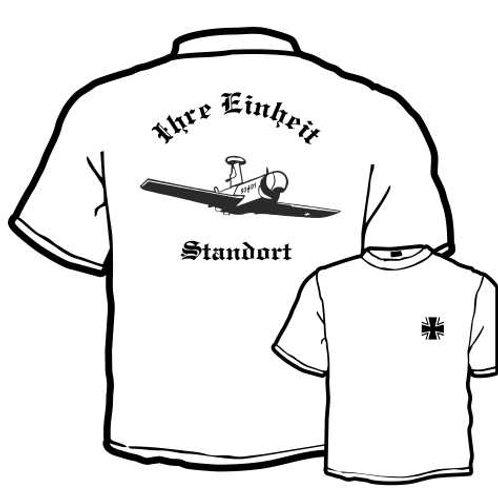 T Shirt beidseitig bedruckt, Motiv: BW_007