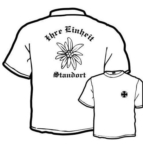 T Shirt Atmungsaktiv beidseitig bedruckt, Motiv: BW_063