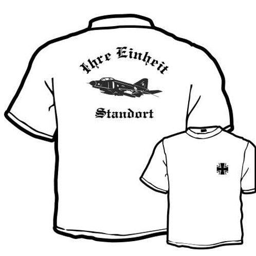 T Shirt beidseitig bedruckt, Motiv: BW_045