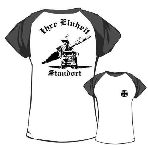 Baseball T Shirt beidseitig bedruckt, Motiv: BW_010