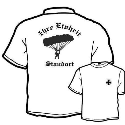T Shirt beidseitig bedruckt, Motiv: BW_029