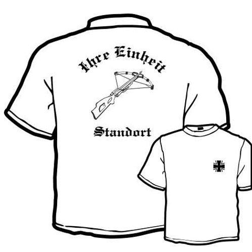 T Shirt beidseitig bedruckt, Motiv: BW_062