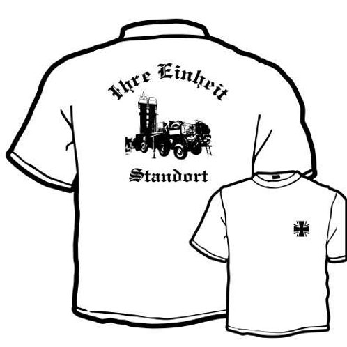 T Shirt Atmungsaktiv beidseitig bedruckt, Motiv: BW_046