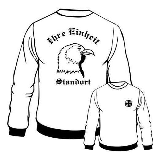 Sweatshirt beidseitig bedruckt, Motiv: BW_020