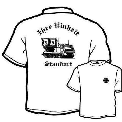 T Shirt beidseitig bedruckt, Motiv: BW_009