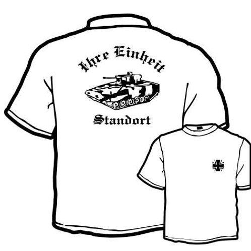 T Shirt Atmungsaktiv beidseitig bedruckt, Motiv: BW_039