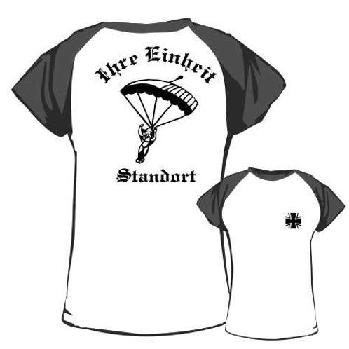 Baseball T Shirt beidseitig bedruckt, Motiv: BW_025
