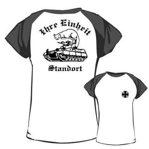 Baseball T Shirt beidseitig bedruckt, Motiv: BW_036