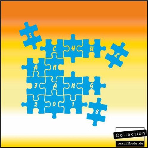 "Schulanfänger - Motiv ""Puzzle"""