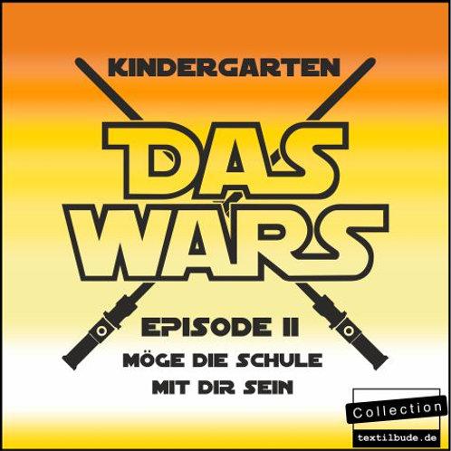 """Schulanfänger - Motiv """"Das Wars"""""""