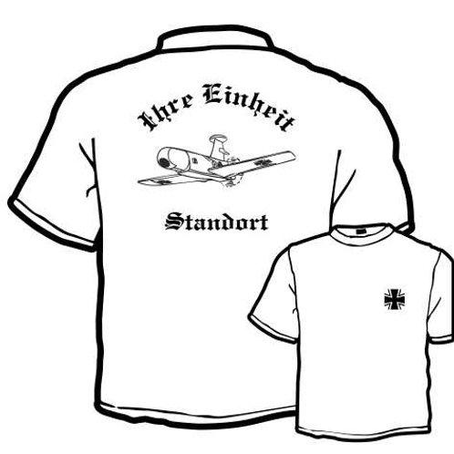 T Shirt beidseitig bedruckt, Motiv: BW_015