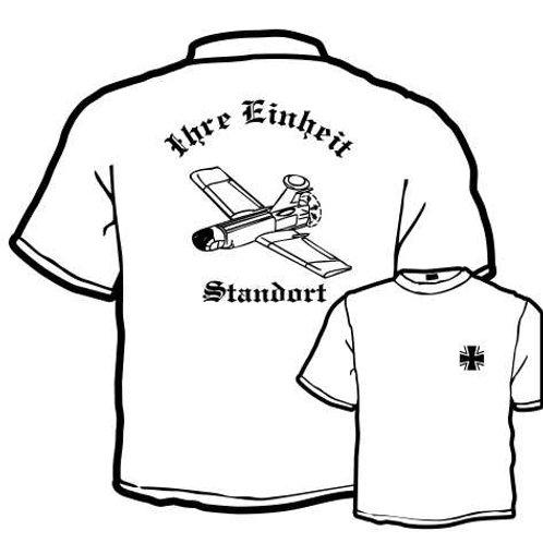 T Shirt Atmungsaktiv beidseitig bedruckt, Motiv: BW_012