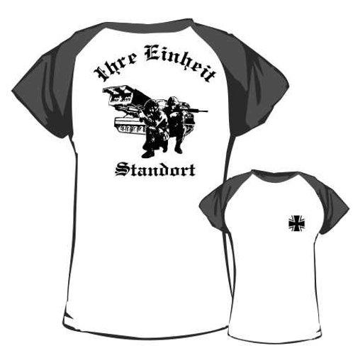 Baseball T Shirt beidseitig bedruckt, Motiv: BW_038