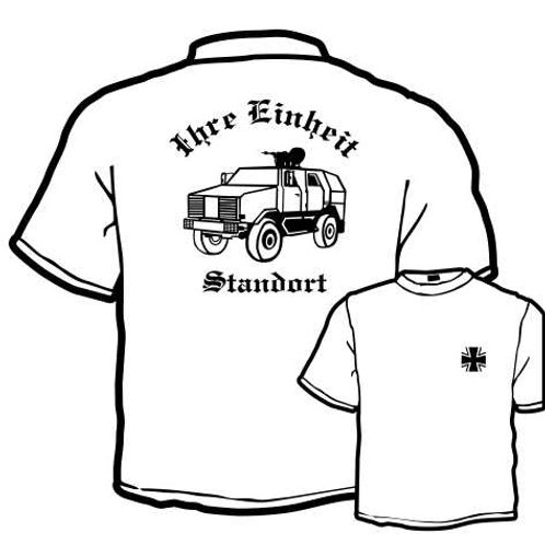 T Shirt Atmungsaktiv beidseitig bedruckt, Motiv: BW_059