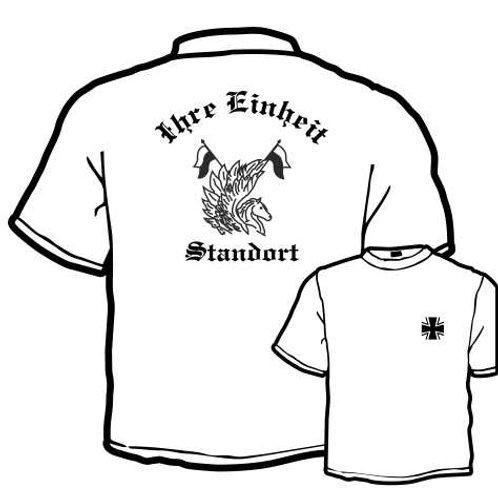 T Shirt beidseitig bedruckt, Motiv: BW_042
