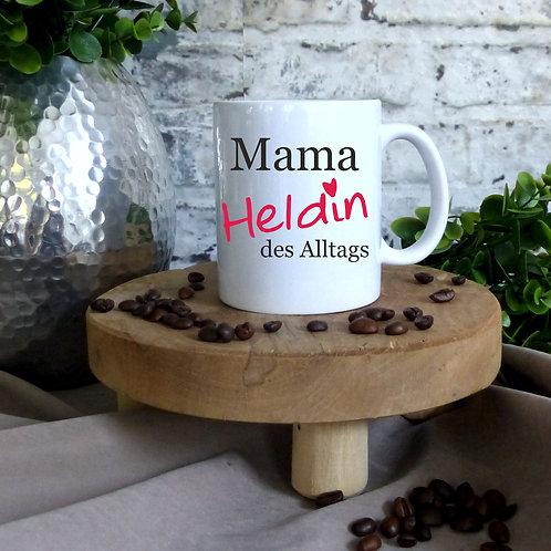 Tasse - Mama Heldin des Alltags