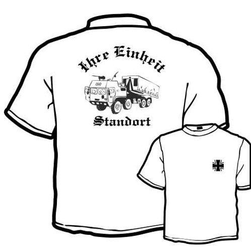 T Shirt beidseitig bedruckt, Motiv: BW_067