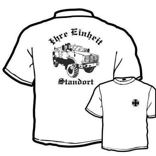 T Shirt beidseitig bedruckt, Motiv: BW_066