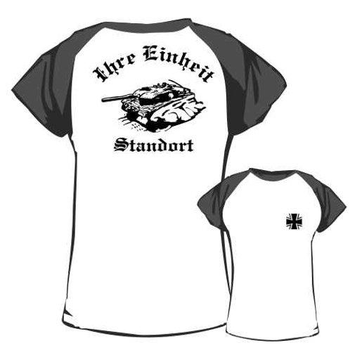 Baseball T Shirt beidseitig bedruckt, Motiv: BW_032