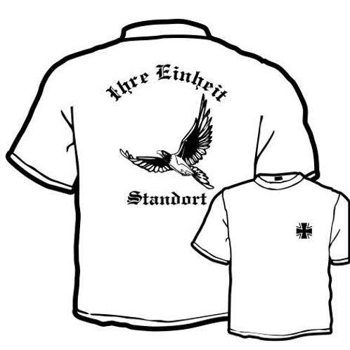 T Shirt beidseitig bedruckt, Motiv: BW_011