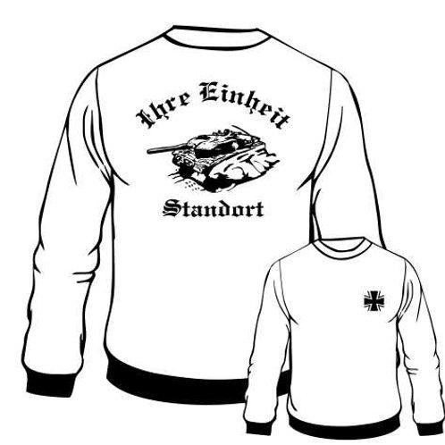 Sweatshirt beidseitig bedruckt, Motiv: BW_032