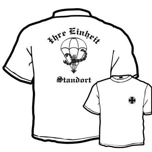T Shirt beidseitig bedruckt, Motiv: BW_050