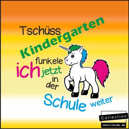 """Schulanfänger - Motiv """"Einhorn"""""""