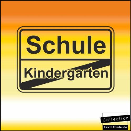 "Schulanfänger - Motiv ""Kindergarten_001"""