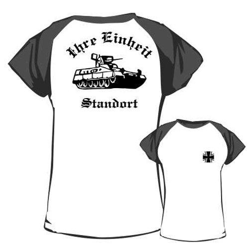 Baseball T Shirt beidseitig bedruckt, Motiv: BW_037
