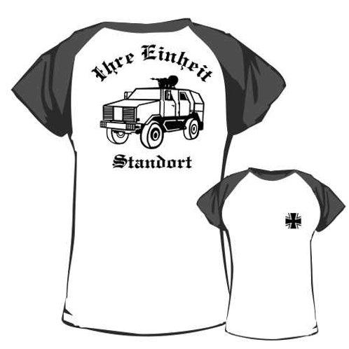 Baseball T Shirt beidseitig bedruckt, Motiv: BW_059