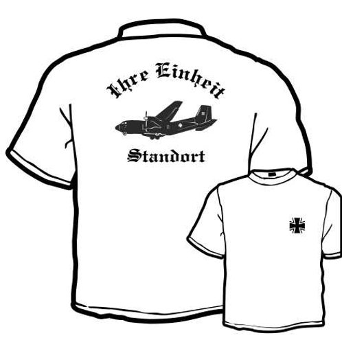 T Shirt beidseitig bedruckt, Motiv: BW_051