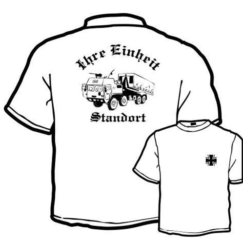 T Shirt Atmungsaktiv beidseitig bedruckt, Motiv: BW_067