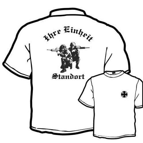T Shirt beidseitig bedruckt, Motiv: BW_019