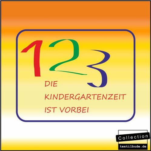 """Schulanfänger - Motiv """"123"""""""