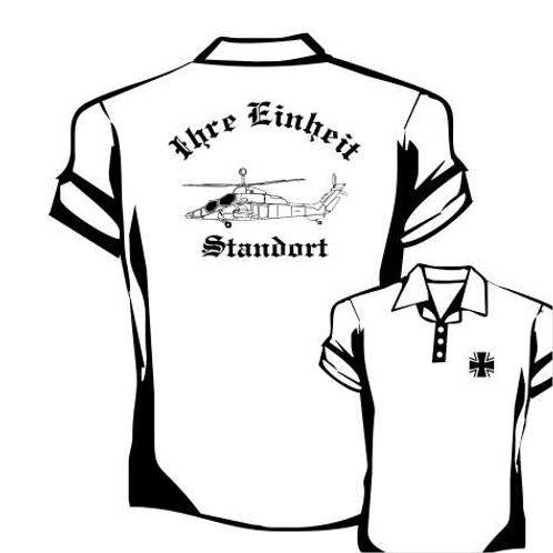 Poloshirt beidseitig bedruckt, Motiv: BW_022