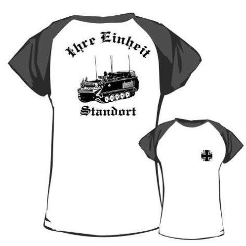 Baseball T Shirt beidseitig bedruckt, Motiv: BW_043