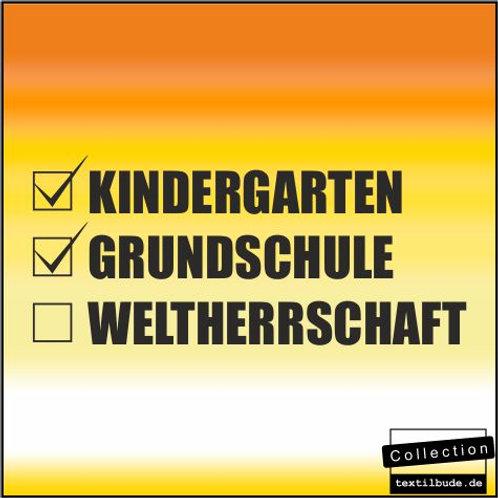 """Schulanfänger - Motiv """"Weltherrschaft"""""""