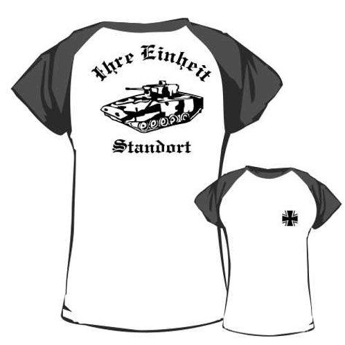 Baseball T Shirt beidseitig bedruckt, Motiv: BW_039