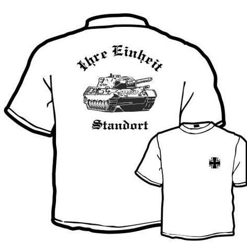 T Shirt beidseitig bedruckt, Motiv: BW_044