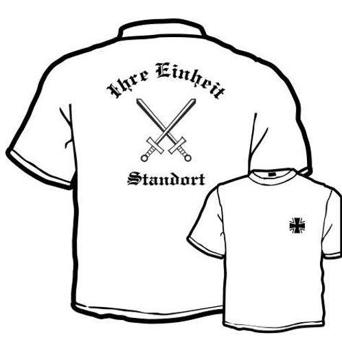T Shirt beidseitig bedruckt, Motiv: BW_064
