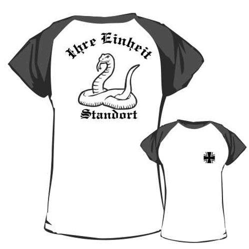 Baseball T Shirt beidseitig bedruckt, Motiv: BW_030