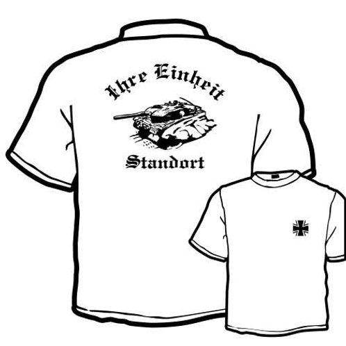 T Shirt beidseitig bedruckt, Motiv: BW_032